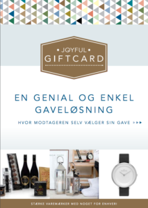 Joyful giftcard